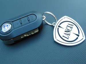 LANCIA KEYRING - Quality interior & exterior steel car accessories and auto parts