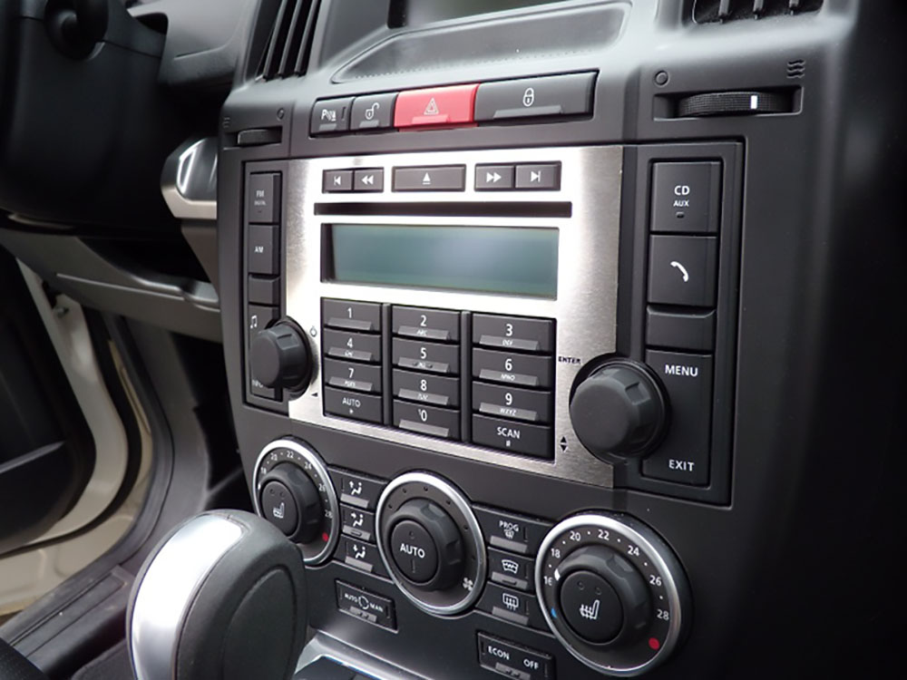 LAND ROVER FREELANDER RADIO CONSOLE COVER