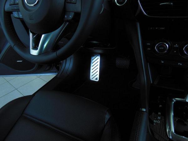 MAZDA 6 FOOTREST - Quality interior & exterior steel car accessories and auto parts