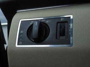MERCEDES A B DIM LIGHT CONTROL COVER - Quality interior & exterior steel car accessories and auto parts