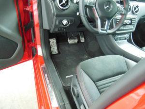 MERCEDES A FOOTREST - Quality interior & exterior steel car accessories and auto parts