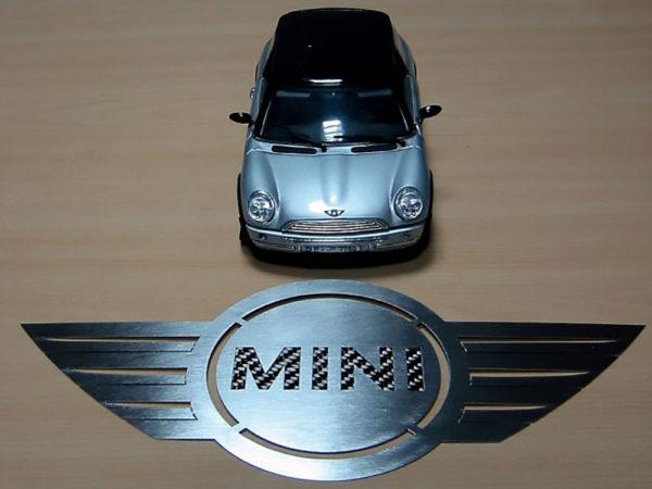 MINI EMBLEM - Quality interior & exterior steel car accessories and auto parts