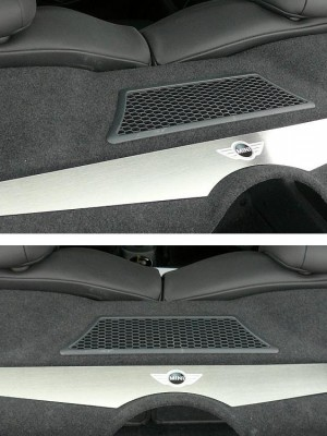 MINI PARCEL SHELF COVER - Quality interior & exterior steel car accessories and auto parts