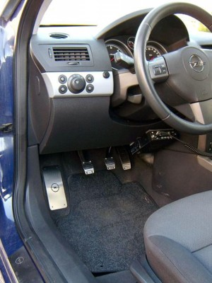OPEL ASTRA ZAFIRA PEDALS - Quality interior & exterior steel car accessories and auto parts
