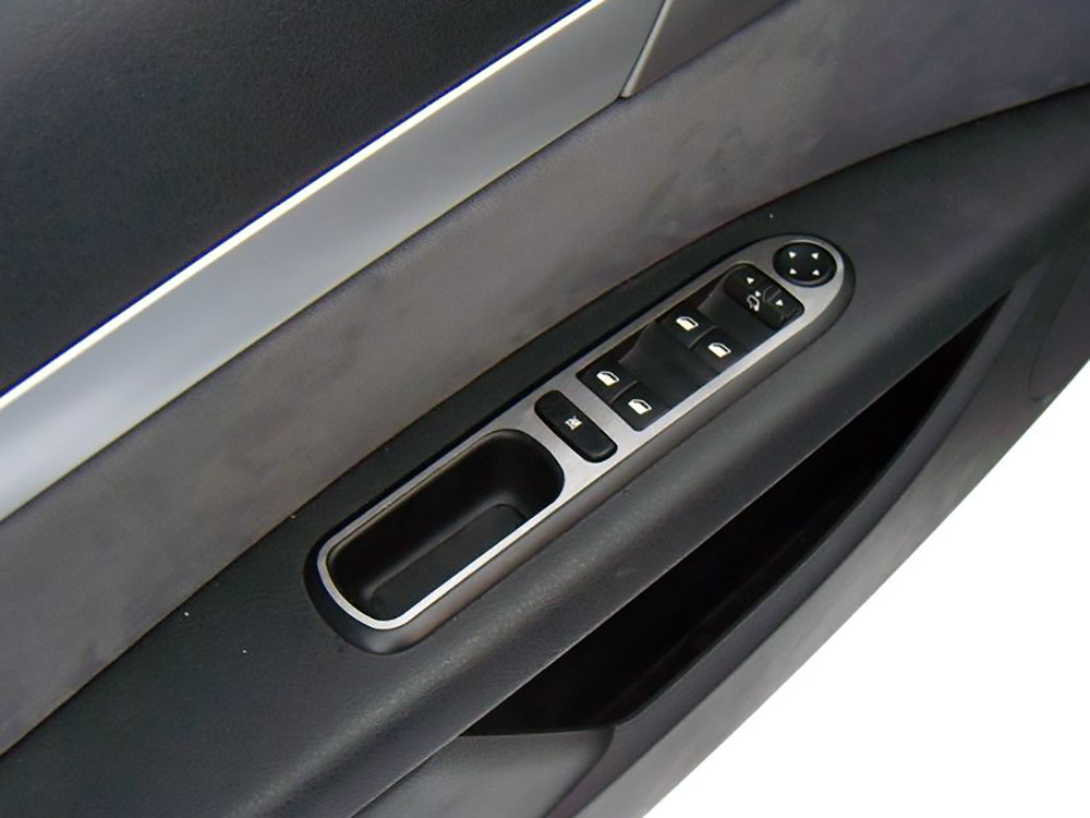 PEUGEOT 407 DOOR CONTROL PANEL COVER - Quality interior & exterior steel car accessories and auto parts
