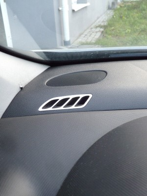 PEUGEOT 308 DEFROST VENT COVER - Quality interior & exterior steel car accessories and auto parts