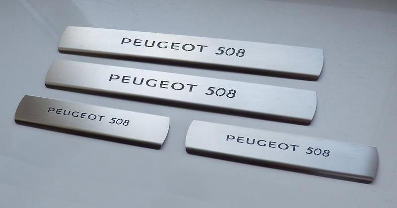 PEUGEOT 508 DOOR SILLS - Quality interior & exterior steel car accessories and auto parts