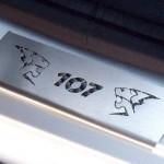 PEUGEOT 107 DOOR SILLS - Quality interior & exterior steel car accessories and auto parts