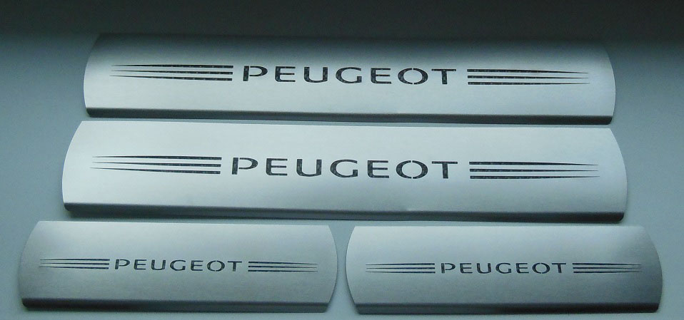 PEUGEOT 308 II DOOR SILLS - Quality interior & exterior steel car accessories and auto parts
