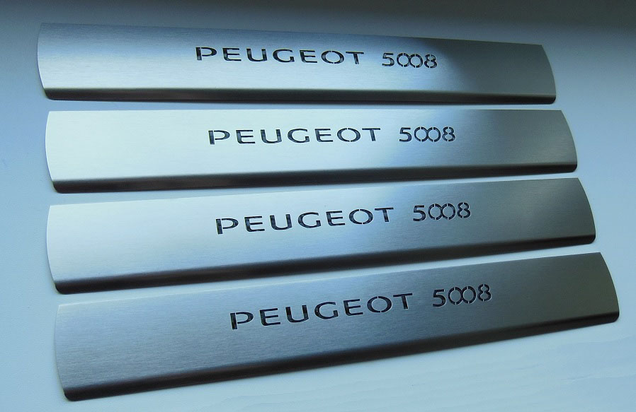 PEUGEOT 5008 DOOR SILLS - Quality interior & exterior steel car accessories and auto parts