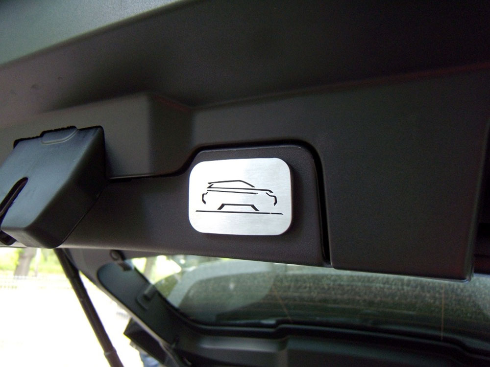 RANGE ROVER EVOQUE TRUNK SWITCH COVER - Quality interior & exterior steel car accessories and auto parts