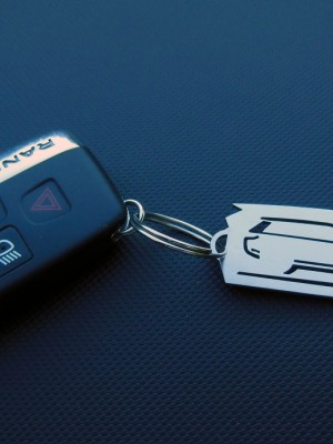 RANGE ROVER KEYRING - Quality interior & exterior steel car accessories and auto parts