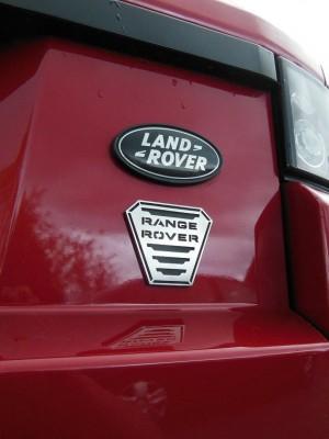 RANGE ROVER EVOQUE EXTERIOR EMBLEM COVER - Quality interior & exterior steel car accessories and auto parts