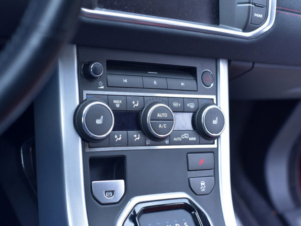 RANGE ROVER EVOQUE CLIMATE CONTROL COVER - Quality interior & exterior steel car accessories and auto parts