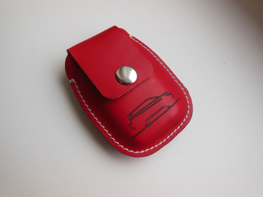 RANGE ROVER EVOQUE LEATHER KEY HOLDER - Quality interior & exterior steel car accessories and auto parts