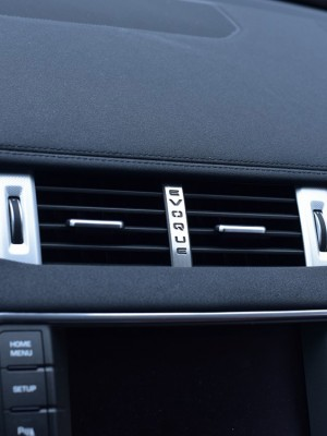 RANGE ROVER EVOQUE AIR VENT EMBLEM COVER - Quality interior & exterior steel car accessories and auto parts