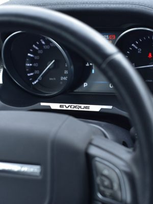 RANGE ROVER EVOQUE BELOW MAIN DISPLAY COVER - Quality interior & exterior steel car accessories and auto parts