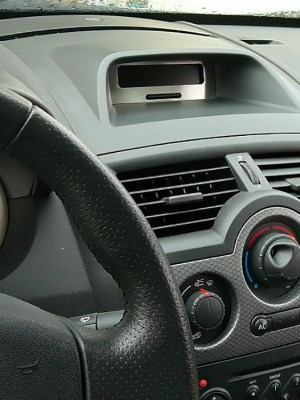 RENAULT MEGANE II CENTER TOP DISPLAY COVER - Quality interior & exterior steel car accessories and auto parts