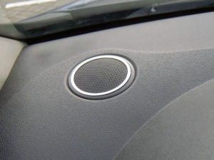 RENAULT CLIO III TWEETER SPEAKER COVER - Quality interior & exterior steel car accessories and auto parts