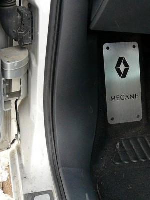 RENAULT MEGANE II FOOTREST - Quality interior & exterior steel car accessories and auto parts