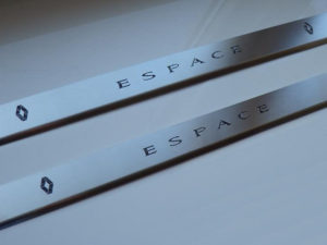 RENAULT ESPACE REAR DOOR SILLS - Quality interior & exterior steel car accessories and auto parts