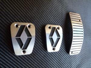 RENAULT CLIO III PEDALS - Quality interior & exterior steel car accessories and auto parts
