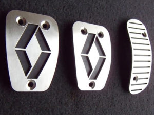 RENAULT CLIO II PEDALS - Quality interior & exterior steel car accessories and auto parts