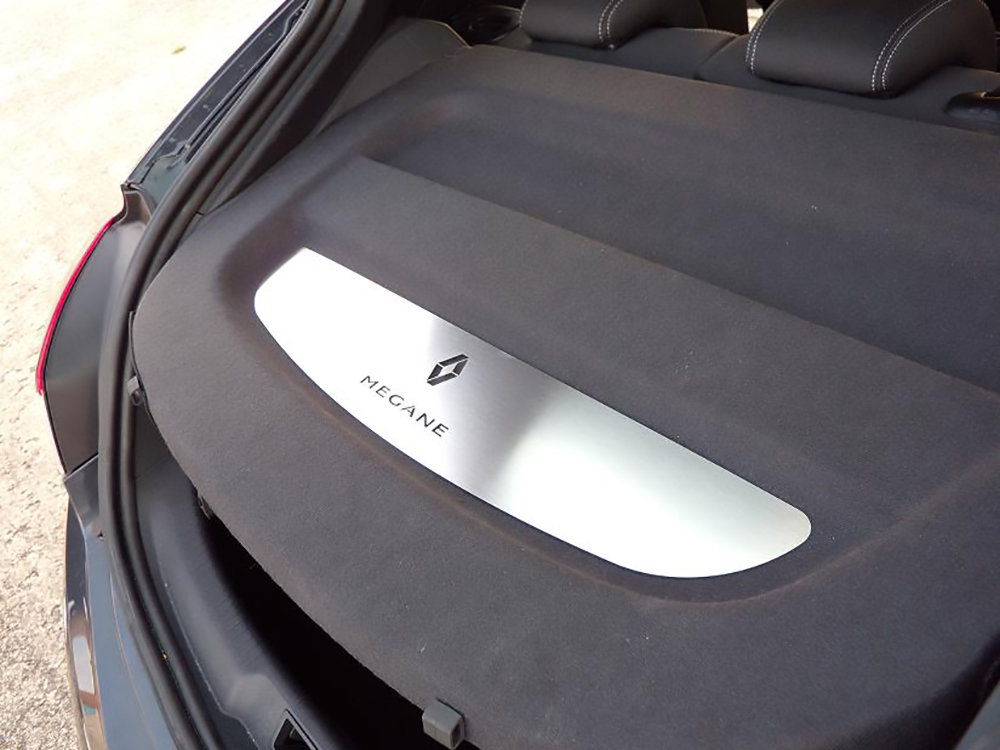RENAULT MEGANE III PARCEL SHELF COVER - Quality interior & exterior steel car accessories and auto parts