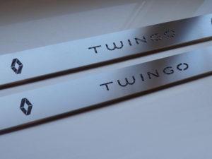 RENAULT TWINGO II DOOR SILLS - Quality interior & exterior steel car accessories and auto parts