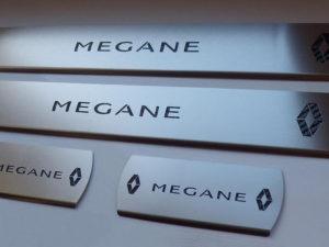RENAULT MEGANE III DOOR SILLS - Quality interior & exterior steel car accessories and auto parts