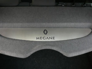 RENAULT MEGANE II PARCEL SHELF COVER - Quality interior & exterior steel car accessories and auto parts