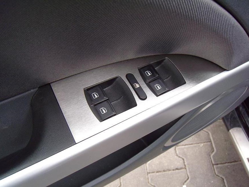 SEAT LEON II DOOR CONTROL PANEL COVER - Quality interior & exterior steel car accessories and auto parts