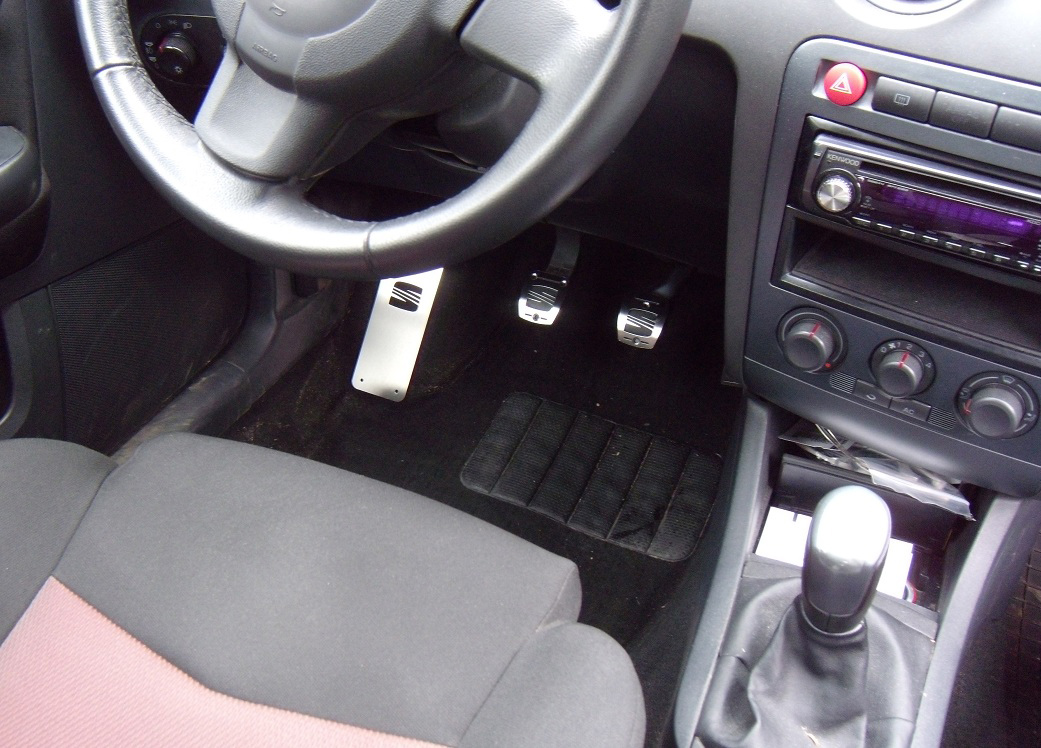 Seat ibiza cordoba pedals autocovr quality crafted for Seat cordoba interior