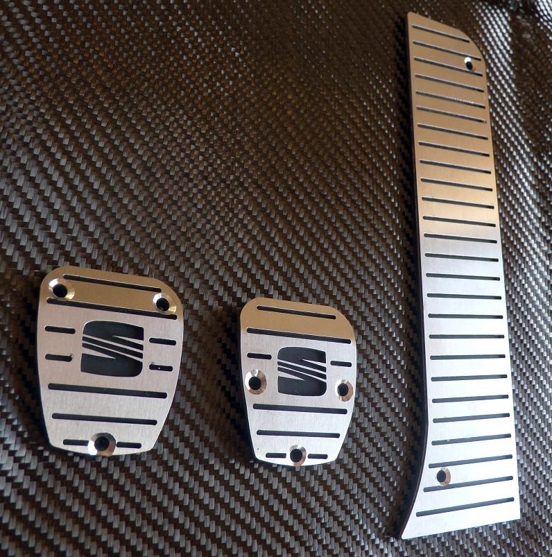 SEAT LEON II PEDALS - Quality interior & exterior steel car accessories and auto parts