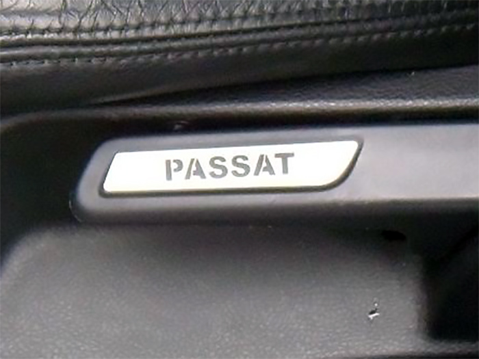 VW PASSAT B6 SEAT ADJUSTMENT COVER - Quality interior & exterior steel car accessories and auto parts