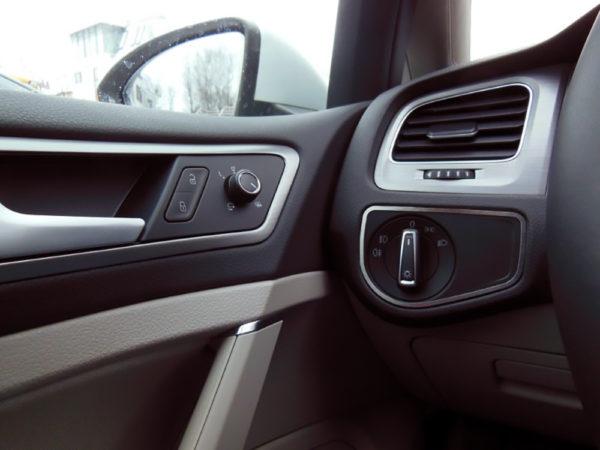 VW GOLF VII DIM LIGHT CONTROL COVER - Quality interior & exterior steel car accessories and auto parts