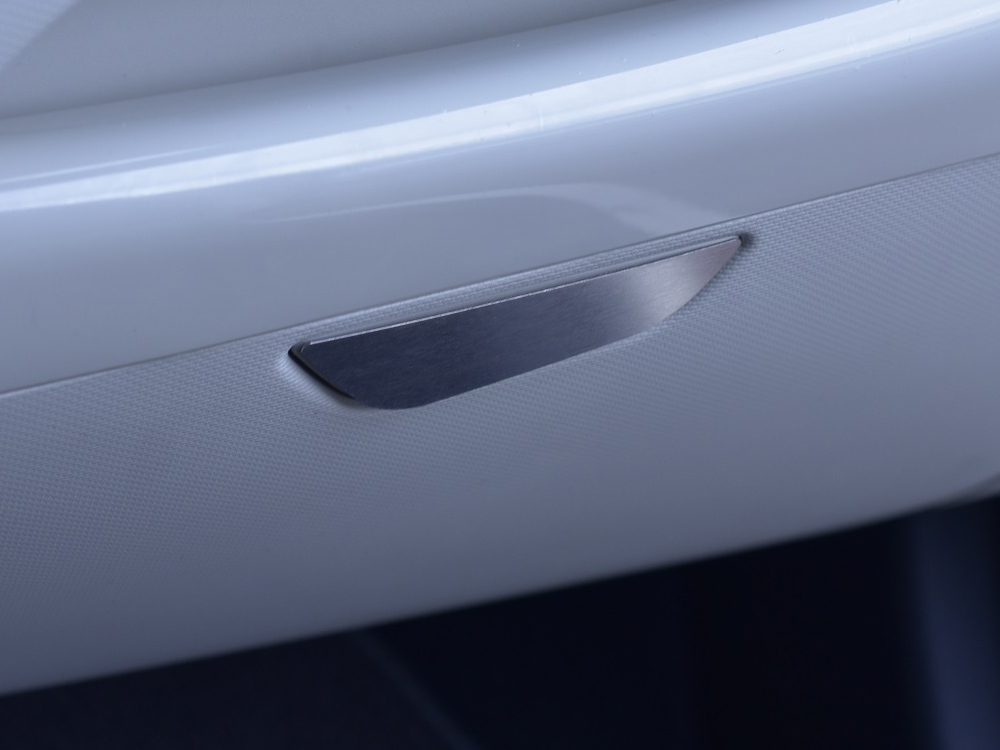 RENAULT CAPTUR GLOVE BOX HANDLE COVER - Quality interior & exterior steel car accessories and auto parts