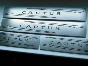 RENAULT CAPTUR DOOR SILLS - Quality interior & exterior steel car accessories and auto parts