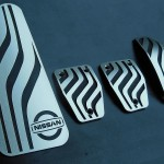 NISSAN QASHQAI II PEDALS AND FOOTREST - Quality interior & exterior steel car accessories and auto parts