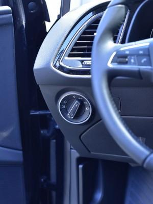 SEAT LEON III DIM LIGHT CONTROL COVER - Quality interior & exterior steel car accessories and auto parts