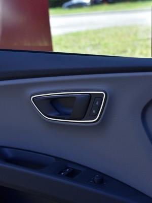 SEAT LEON III DOOR HANDLE COVER - Quality interior & exterior steel car accessories and auto parts
