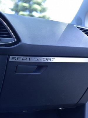 SEAT LEON III GLOVE BOX COVER - Quality interior & exterior steel car accessories and auto parts