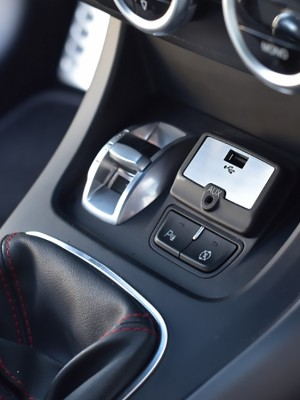 ALFA ROMEO GIULIETTA USB AUX COVER - Quality interior & exterior steel car accessories and auto parts