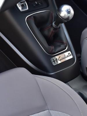 ALFA ROMEO GIULIETTA CENTER CONSOLE EMBLEM COVER - Quality interior & exterior steel car accessories and auto parts
