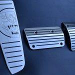 JAGUAR XK PEDALS AND FOOTREST - Quality interior & exterior steel car accessories and auto parts