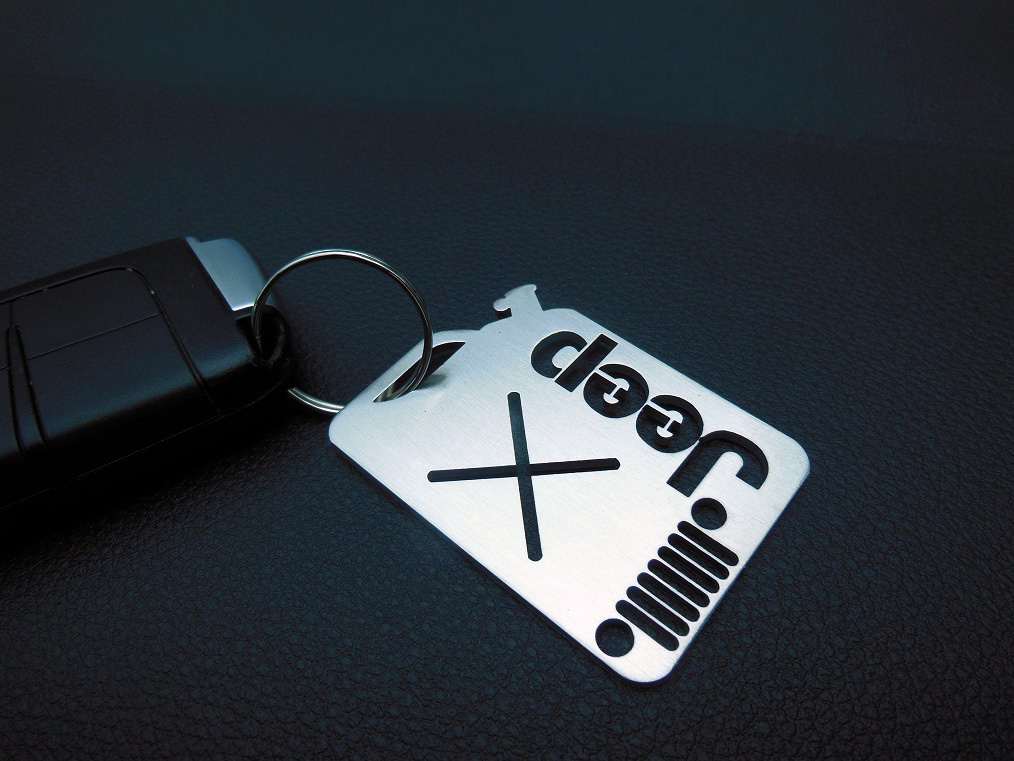 JEEP KEYRING - Quality interior & exterior steel car accessories and auto parts