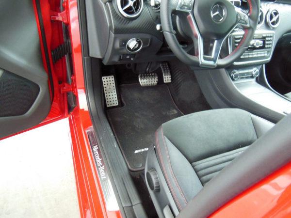 MERCEDES A GLA FOOTREST - Quality interior & exterior steel car accessories and auto parts