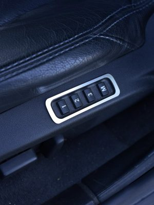 SAAB 9-3 II SEAT MEMORY PANEL COVER - Quality interior & exterior steel car accessories and auto parts