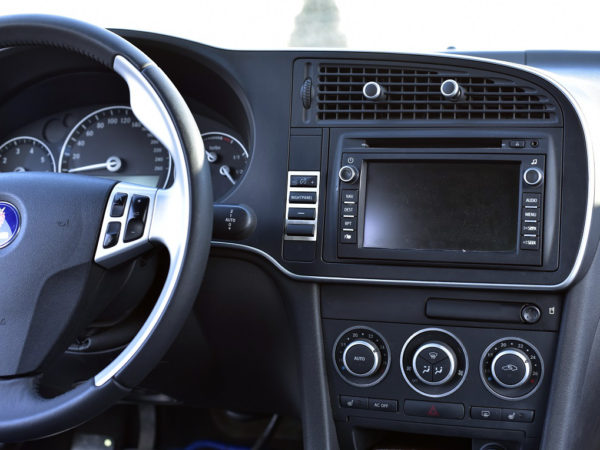 SAAB 9-3 II INSTRUMENT LIGHT BUTTONS COVER - Quality interior & exterior steel car accessories and auto parts