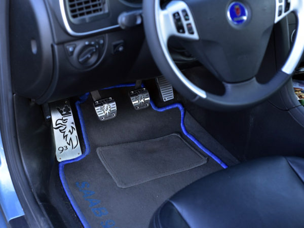 SAAB 9-3 II FOOTREST - Quality interior & exterior steel car accessories and auto parts